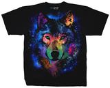 Nature - Cosmic Wolf T-Shirt