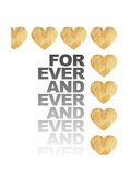 Love for Ever and Ever Premium Giclee Print by Miyo Amori