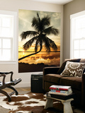 Palm Paradise at Sunset - Florida - USA Wall Mural by Philippe Hugonnard