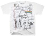 Pink Floyd - Floyd Sketch T-skjorter