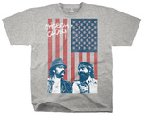 Cheech & Chong - Red, White, Blue And Green T-Shirt