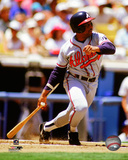 Terry Pendleton 1991 Action Photo