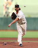 Madison Bumgarner Game 5 of the 2014 World Series Action Photo