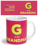 G is Grandma Mug Mug