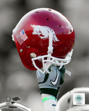 University of Arkansas Razorbacks Helmet Spotlight Photo