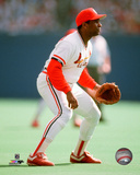 Terry Pendleton 1989 Action Photo