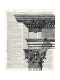 Poetry of Architecture 1 Premium Giclee Print by Christopher James