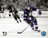 David Backes 2011-12 Spotlight Action Photo