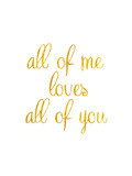 All of Me Premium Giclee Print by Miyo Amori