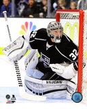 Jonathan Quick 2013-14 Playoff Action Photo