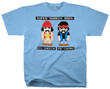 Cheech & Chong - 8 Bit Barrios T-shirts