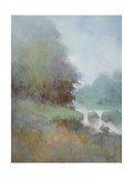 Misty Morning Fog Premium Giclee Print by Jan Zhang