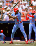 Terry Pendleton 1984 Action Photo