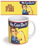 We Can Do It Mug Taza