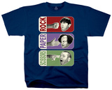 Three Stooges - Rock, Paper, Scissors T-Shirt