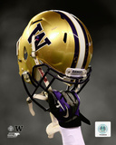 University of Washington Huskies Helmet Spotlight Photo