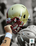 Boston College Eagles Helmet Spotlight Photo