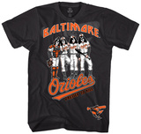KISS - Baltimore Orioles Dressed To Kill T-Shirt