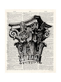 Poetry of Architecture 4 Premium Giclee Print by Christopher James