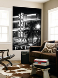 Ocean Drive with the Colony Hotel by Night - Miami Beach - Florida - USA Wall Mural by Philippe Hugonnard
