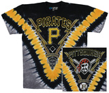 MLB - Pirates V Dye T-Shirt