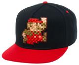 Nintendo - Pixel Mario Black Snapback Hat