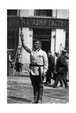 Traffic Policeman in Moscow, 1927 Photographic Print by  Scherl