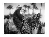 Mann auf einem Pferd, 1930er Jahre Photographic Print by  SZ Photo