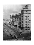 Hotel 'Moskwa' in Moskau, 1939 Photographic Print by Scherl Süddeutsche Zeitung Photo