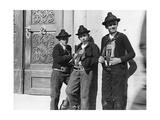 Bauernjungen aus Sarntal in Südtirol, 1914 Photographic Print by Knorr Hirth Süddeutsche Zeitung Photo