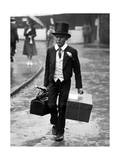 Student from Eton Public School in London, 1925 Photographic Print by  Scherl