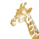 Elegant Gold Safari II (gold foil) Plakater af Patricia Pinto