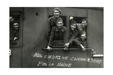 French Prisoners of War on their Return to France, 1942 Photographic Print by  Scherl