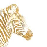 Elegant Gold Safari I (gold foil) Poster von Patricia Pinto
