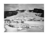 'Weiße Terrasse' in Neuseeland vor der Zersörung Photographic Print by  Scherl