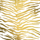 Gold Nairobi Square II (gold foil) Reprodukcje autor Nicholas Biscardi