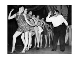 Billy Bennett and the George Hale 'Glamour Girls', 1937 Photographic Print by  Scherl