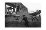 Berliner Flugwoche auf dem Flugfeld Johannisthal, 1909 Photographic Print by  Scherl