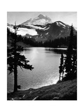 Chain Lake and Mount Baker, 1931 Photographic Print by  Scherl