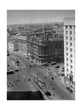 Hotel National in Moskau Photographic Print by Scherl Süddeutsche Zeitung Photo