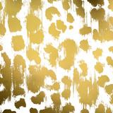 Gold Nairobi Square I (gold foil) Plakat av Nicholas Biscardi