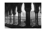 Kreuzgang der Kathedrale von Monreale Photographic Print by  Scherl