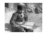 Kurdischer Schuljunge im Iran, 1929 Photographic Print by Scherl Süddeutsche Zeitung Photo