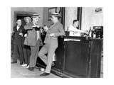 Prohibition: Drinking Men in the USA Papier Photo par  Scherl