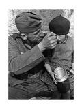 Deutscher Soldat im Sudetenland, 1938 Impressão fotográfica por  Süddeutsche Zeitung Photo