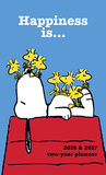 Peanuts Happiness Is - 2016 2 Year Pocket Planner Kalender