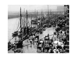Hafen von Boston, 1931 Fotografisk trykk av  Süddeutsche Zeitung Photo