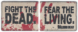 The Walking Dead - Fear The Living Bi-Fold Wallet Wallet