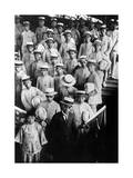 Chinese Students Visit Tokyo, 1920's Photographic Print by  Scherl