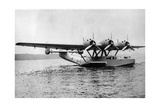 Flying Boat Dornier Do 24 Near Friedrichshafen, 1937 Photographic Print by  Knorr & Hirth